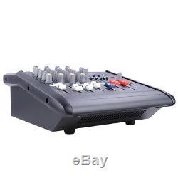 Amplificateur De Mélange Actionné Professionnel De Puissance De Mélangeur 4 Canaux Withusb Fente Amp 16dsp