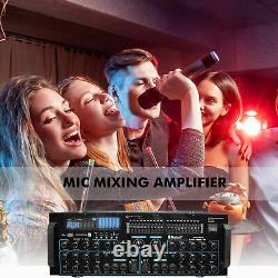 Amplificateur De Mélange De Micro Professionnel Tpro 3000 W Avec Bluetooth, Usb Et Double Égaliseur