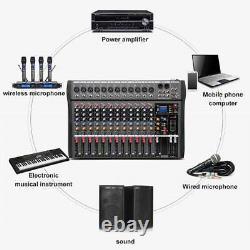 Amplificateur De Mélangeur De Puissance 12 Canaux Propulsé Professionnel