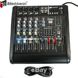 Amplificateur De Mixage Ampli De Puissance Professionnel 4 Canaux