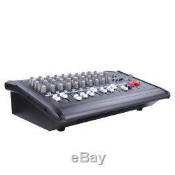 Amplificateur De Mixage Amplifié Professionnel 16dsp 48v De Puissance De Mélangeur Actionné Par 10 Canaux