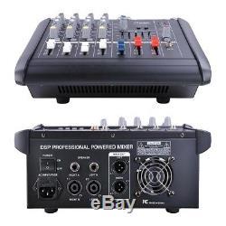 Amplificateur De Mixage Amplifié Professionnel 4 Canaux Pour Amplificateur 16dsp