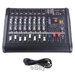 Amplificateur De Mixage Amplifié Professionnel À 8 Canaux Avec Amplificateur 16dsp