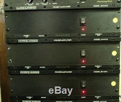 Amplificateur De Puissance Altec Lansing 9442a Pro 150w X2 4-ohms 3 Ru Refroidi Par Air