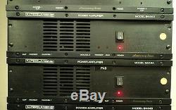 Amplificateur De Puissance Altec Lansing 9444a 300w X2 4-ohms 3 Ru Refroidi