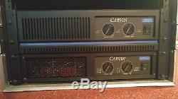 Amplificateur De Puissance Carvin Dcm2500 De 2500 Watts, 2 Canaux Et Série Dcm3800l