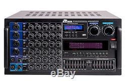 Amplificateur De Puissance De Mixage Numérique Professionnel Karaoké Idolmain 6000w