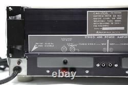 Amplificateur De Puissance Dynaco Stereo 400 Avec Meters Pro Restored, Recapped, Leds