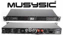 Amplificateur De Puissance Muys8500 D-class 1u 8500 Watts Musysic Professional