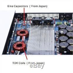 Amplificateur De Puissance Professionnel 2ch 5600watts 1u Classe D Subwoofer Dj Tulun Play D4