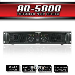 Amplificateur De Puissance Professionnel Audiopipe (aq-5000)