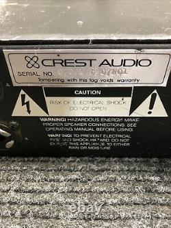 Amplificateur De Puissance Professionnel Crest Audio 7001 D'occasion