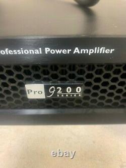 Amplificateur De Puissance Professionnel Crest Audio Pro 9200