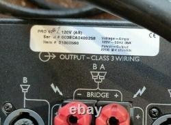 Amplificateur De Puissance Professionnel Crest Audio Pro 9200 Avec Cordon De Puissance Utilisé