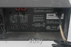 Amplificateur De Puissance Professionnel Crown Ce 2000 Ce2000a 2 Canaux 120v 6.5amps