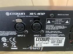 Amplificateur De Puissance Professionnel Crown Xls 402