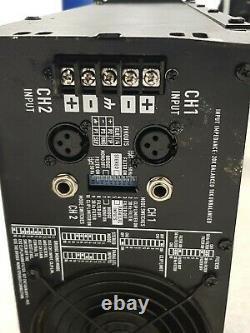 Amplificateur De Puissance Professionnel Qsc Rmx 4050hd