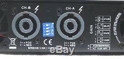 Amplificateur De Puissance Professionnel Série Cvr D- 3002 One Space 3000 Watts X2 À 8