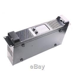 Amplificateur De Puissance Professionnel Tulun Tip600 De 2 Canaux De 2 100 Watts Sur Bâti De Rack