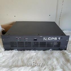 Amplificateur De Puissance Stéréo Commercial Professionnel Electro-voice Evcps1 900 Watts