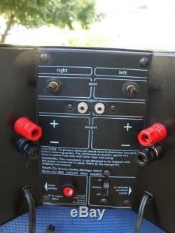 Amplificateur De Puissance Stéréo Heathkit Aa-1800 Génial Révisé! # 2