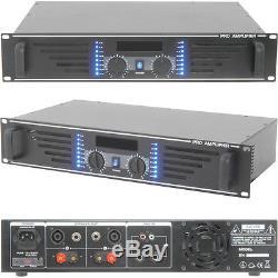 Amplificateur De Puissance Stéréo Pro 240w -8 Ohm Pour Les Systèmes De Grande Hauteur