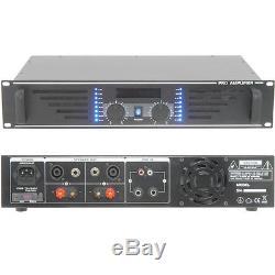 Amplificateur De Puissance Stéréo Pro 900w -8 Ohm Pour Les Systèmes De Haut-parleur De Grande Taille