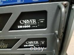 Amplificateur De Puissance Stéréo Professionnel Carver Zr1600