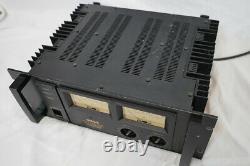 Amplificateur De Puissance Stéréo Yamaha Avec Pc2002m Meter Professional Series F338 F/s