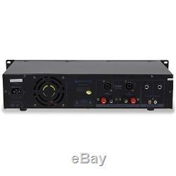 Amplificateur De Puissance Technical Pro Professional 2-ch 3000w Avec 1/4 Entrées Px3000