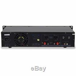 Amplificateur De Puissance Technique Professionnel 2 Canaux 3000 Watts Avec Indicateurs De Niveau