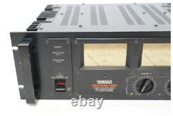 Amplificateur De Puissance Yamaha Pc2002m De Série Professionnelle Du Japon Utilisé