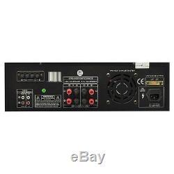Amplificateur Fm D'amplificateur De Puissance De Canal Stéréo Professionnel Numérique Audio À La Maison De Dj De 300w Dj