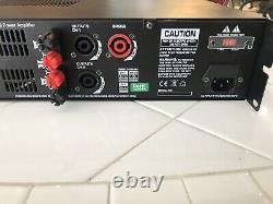Amplificateur Gemini Xga-4000 Watts Professional Power Amplificateur 2-ch Bridgeable Dj Stereo Amp