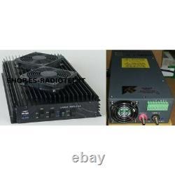 Amplificateur Linéaire Kit Rm Italie Kl703 + Alimentation Professionnelle E-scn-1000