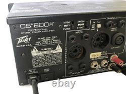 Amplificateur Peavey Cs 800x Professional Stereo Power