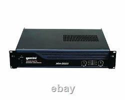 Amplificateur Professionnel De Puissance Audio De Gemini Xga-2000 2000w Rack Pa Amp Xga2000