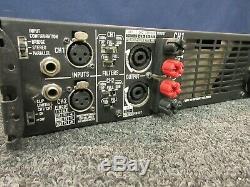Amplificateur Qsc Power Amp Professional 3600 Watt Plx-3602 Rack 2 Canaux