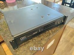Amplifieur De Puissance Professionnel Rmx 850 Audio Qsc Avec Étui