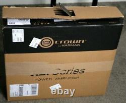 Atc Scm12 Pro Passive Studio Monitors (paire) + Crown XLI 800 Amplificateur De Puissance