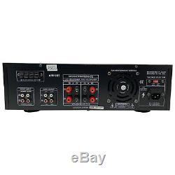 Audioronics Ar512bt 1500 Watts Préampli Récepteur Avec Am Tuner Fm Dj Pro Audio