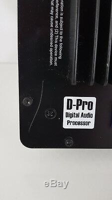 Augspurger Dsp3-1250 Amplificateur Plaque 3 Voies Classe D 4ohm D-pro