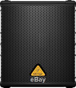 Behringer B1200d-pro Subwoofer Actif Alimenté Sub 500w Classe D Amplifié