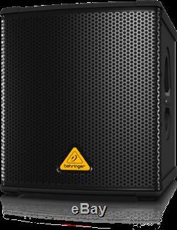 Behringer B1200d-pro Subwoofer Actif Amplifié Subwoofer 500w Amplifié + Câble Xlr