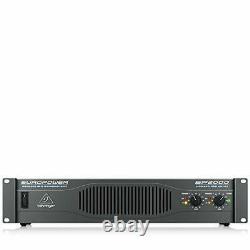Behringer Ep2000 Europower 2000w Amplificateur De Puissance Stéréo, Amplificateur De Qualité Sonore Pro
