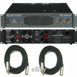 Behringer Europower Ep2000 Stereo Professional Power Amp (2 Câbles Xlr Gratuit)