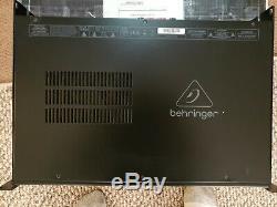 Behringer Km750 Pro Réponse Transitoire Accélérée Par Amplificateur De Puissance Stéréo, État Neuf