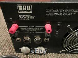 Bgw Modèle 750c Vintage Amplificateur De Puissance Professionnel (série # 0763) De Travail
