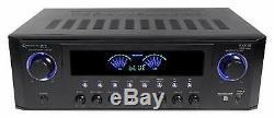 Bluetooth Professional Dj Audio Stéréo Numérique Amplificateur De Puissance Amp