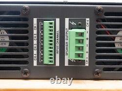 Bose Entero 4700 Amplificateur De Puissance 4-channel Professional Rack Mount Amplificateur